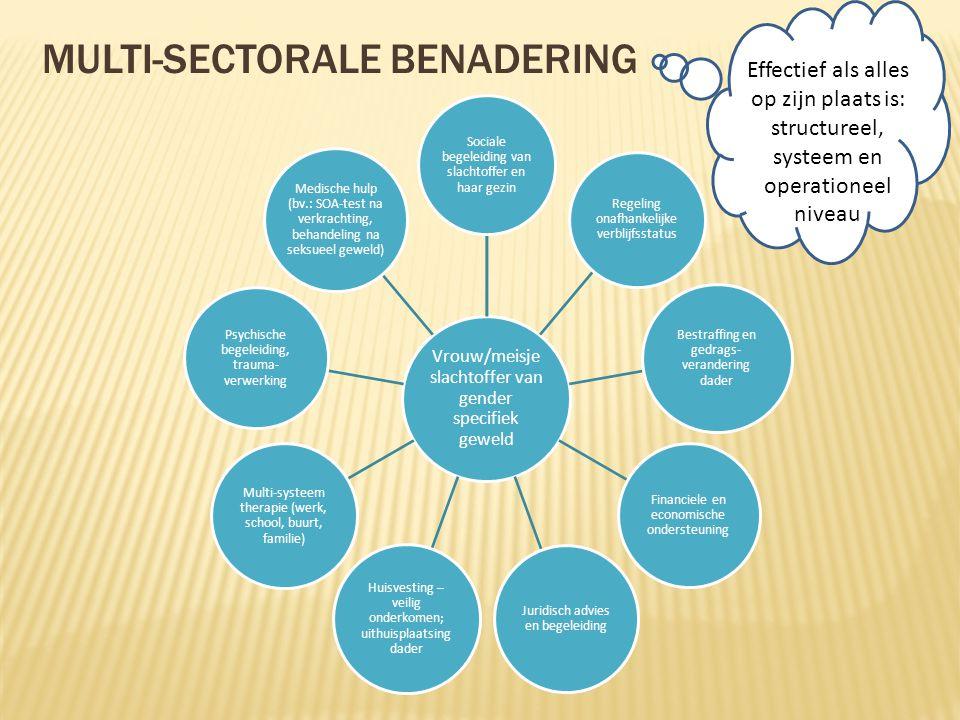Multi-sectorale benadering