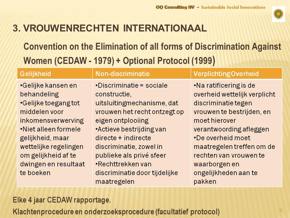 3. Vrouwenrechten Internationaal