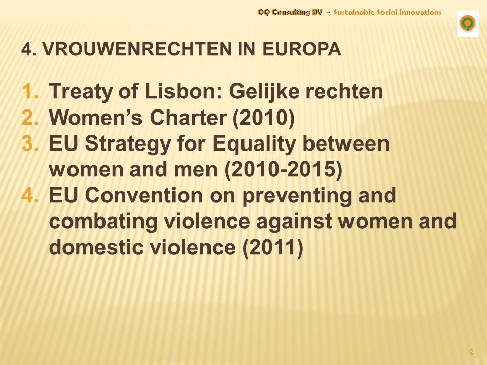 4. vrouwenRechten in europa
