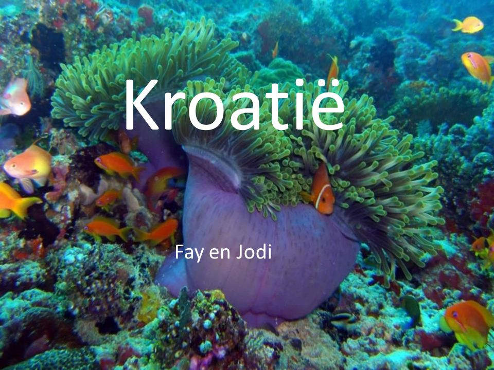 Kroatië Kroatië Fay en Jodi