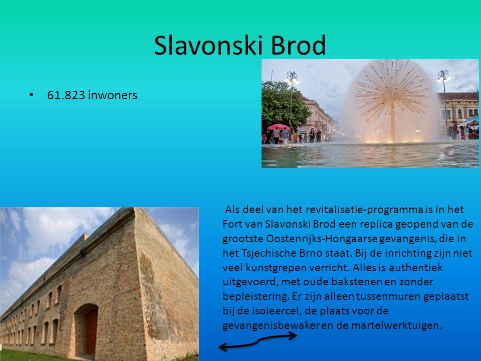Slavonski Brod 61.823 inwoners