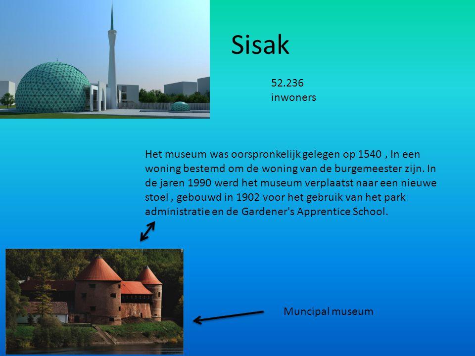 Sisak 52.236 inwoners.
