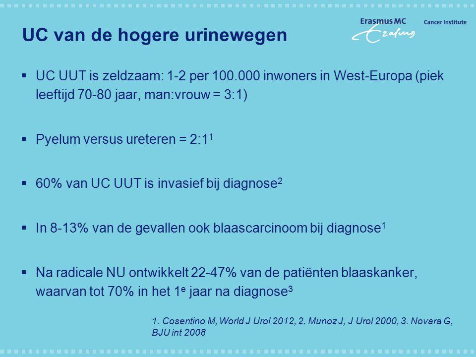 UC van de hogere urinewegen
