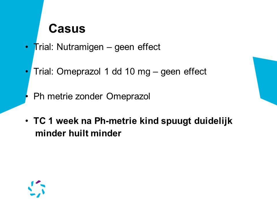 Casus Trial: Nutramigen – geen effect