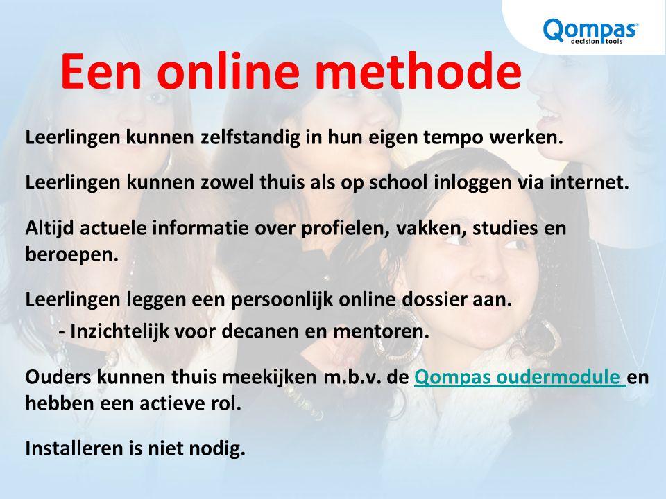 Een online methode