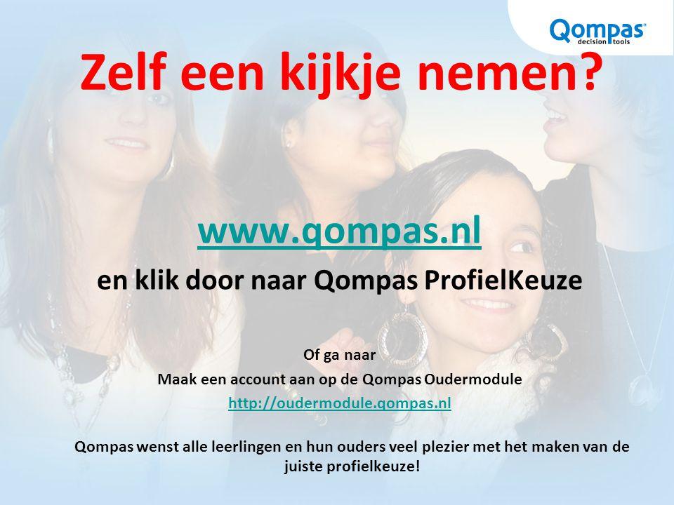 Zelf een kijkje nemen www.qompas.nl