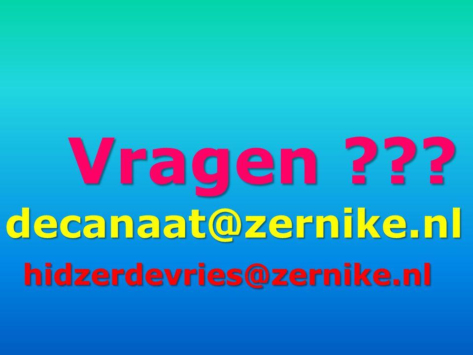 Vragen decanaat@zernike.nlhidzerdevries@zernike.nl