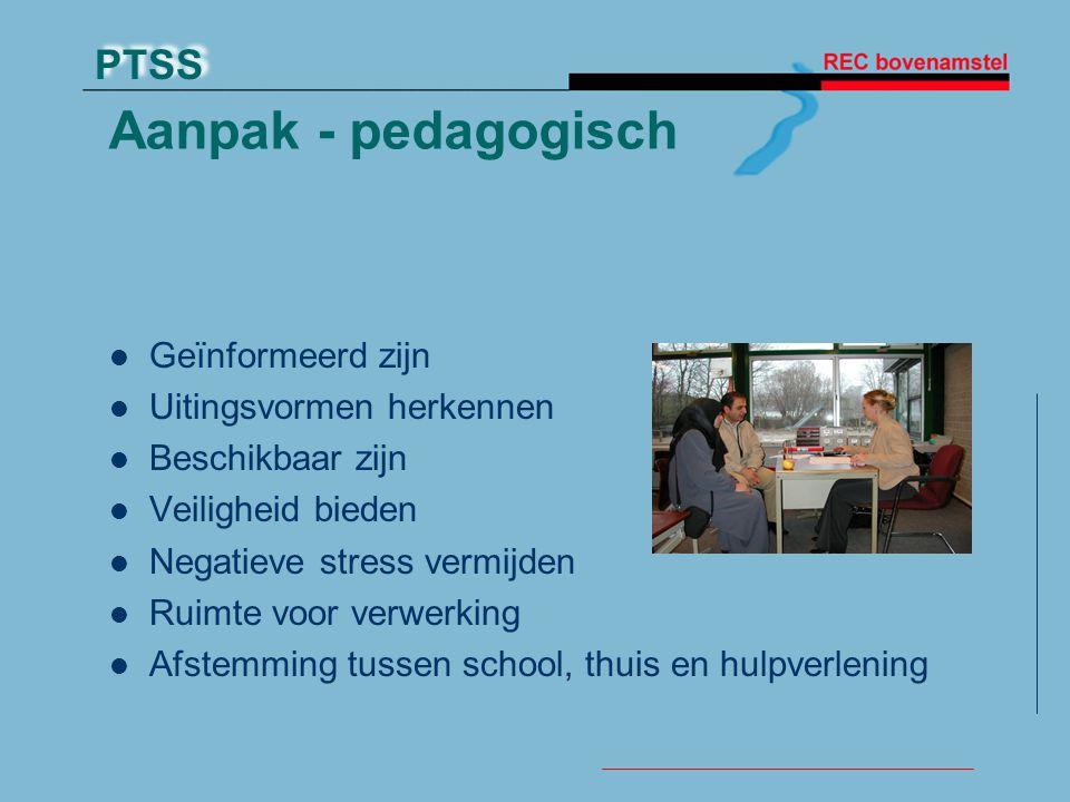Aanpak - pedagogisch Geïnformeerd zijn Uitingsvormen herkennen
