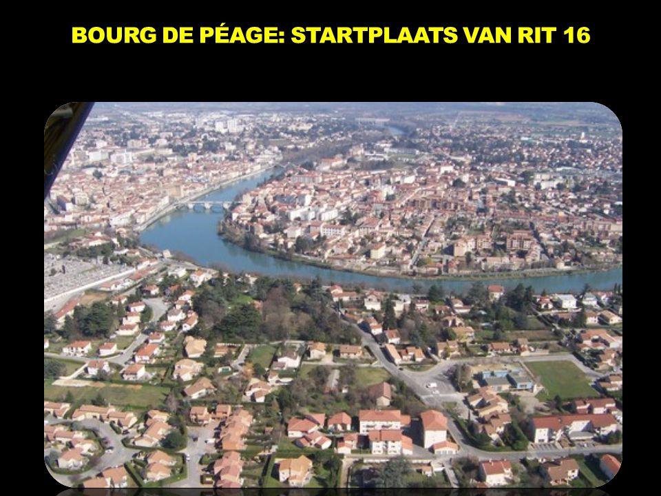 BOURG DE PÉAGE: STARTPLAATS VAN RIT 16