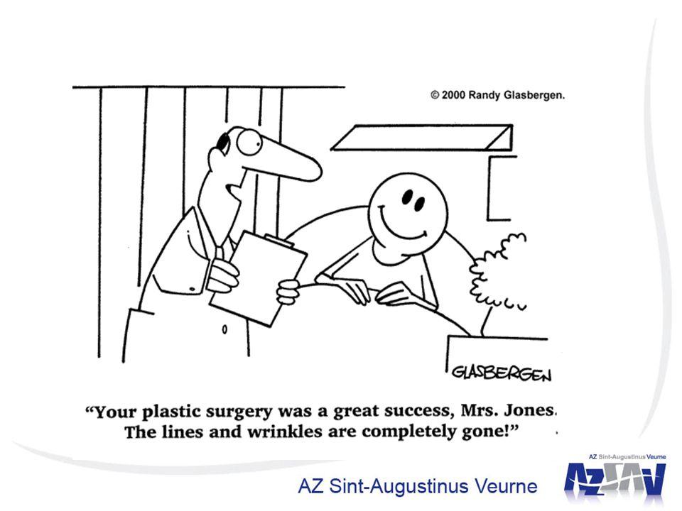 Probleem huidoverschot, nog geen zalf of spray, wel collega's plastisch chirurgen.