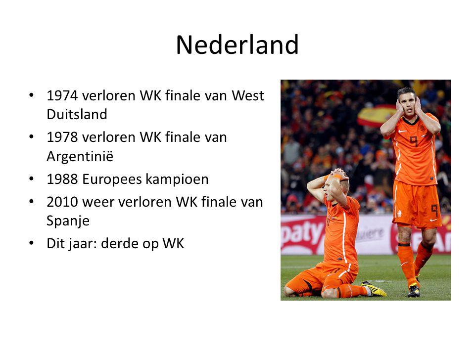 Nederland 1974 verloren WK finale van West Duitsland