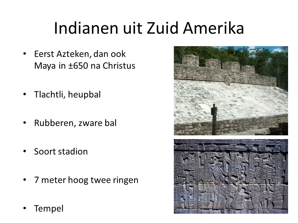 Indianen uit Zuid Amerika