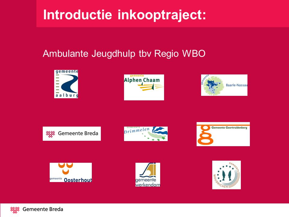 Introductie inkooptraject: