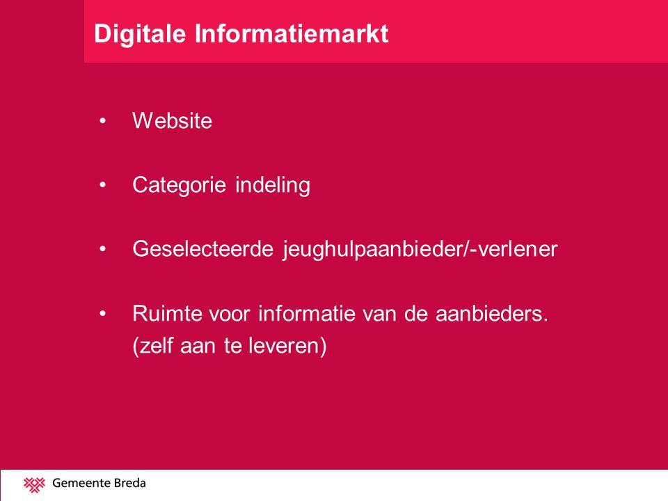 Digitale Informatiemarkt