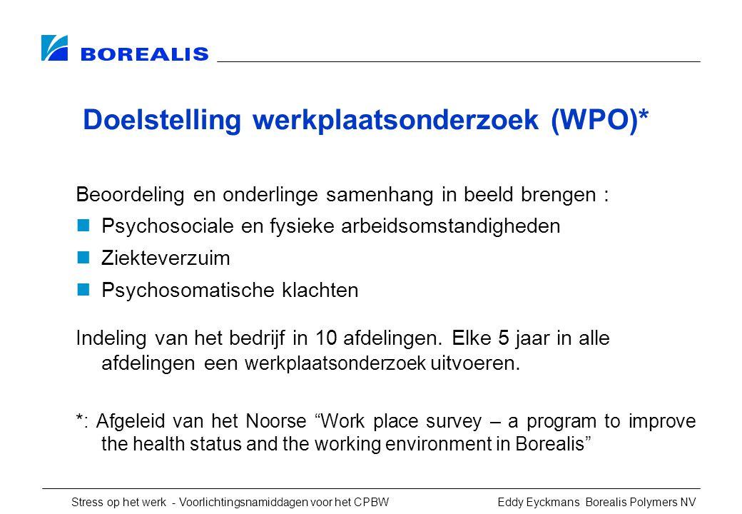 Doelstelling werkplaatsonderzoek (WPO)*