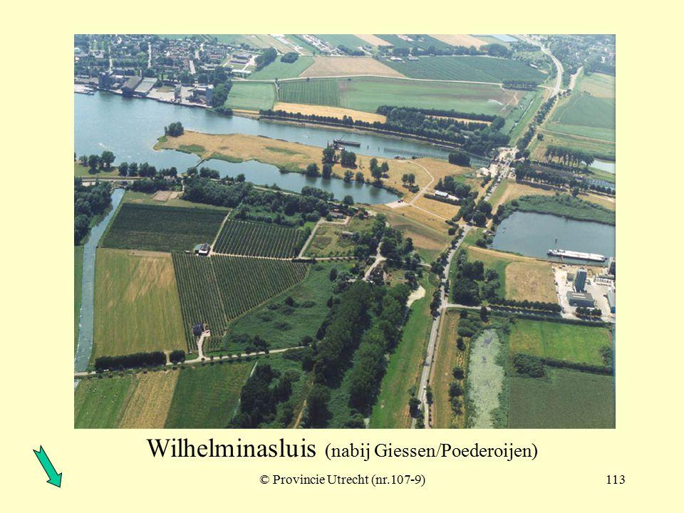 Wilhelminasluis (nabij Giessen/Poederoijen)