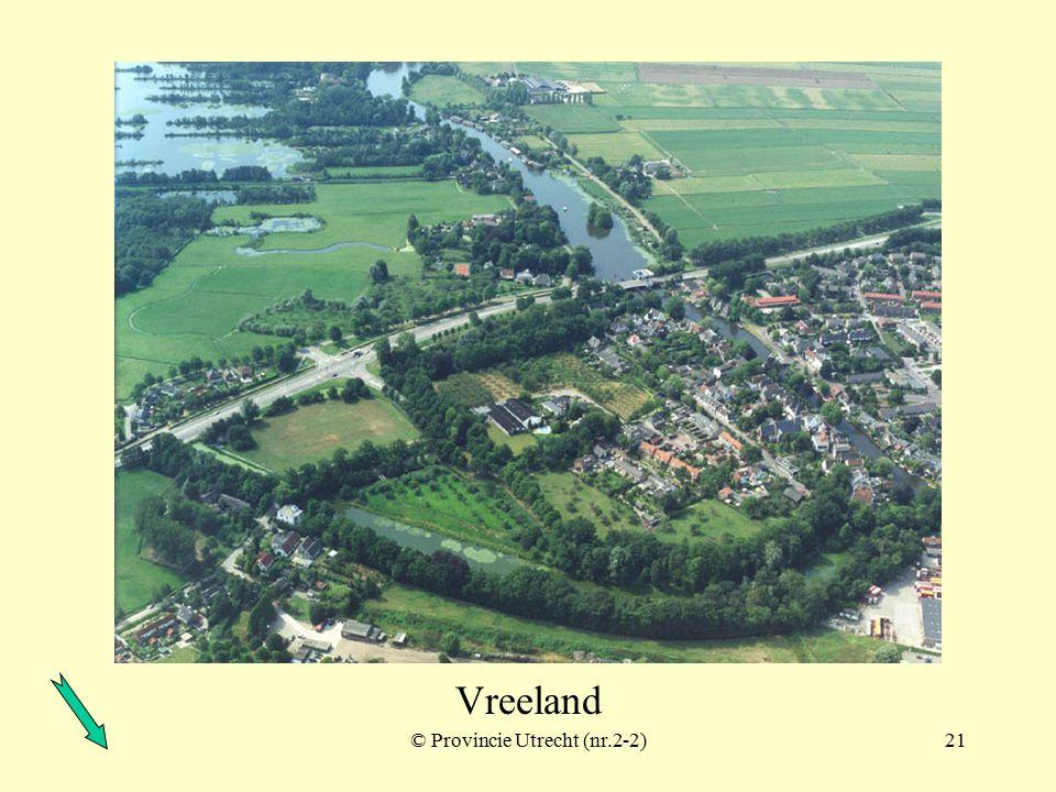 Fort Spion ook wel: Redoute op de Bloklaan © Provincie Utrecht (2-11)