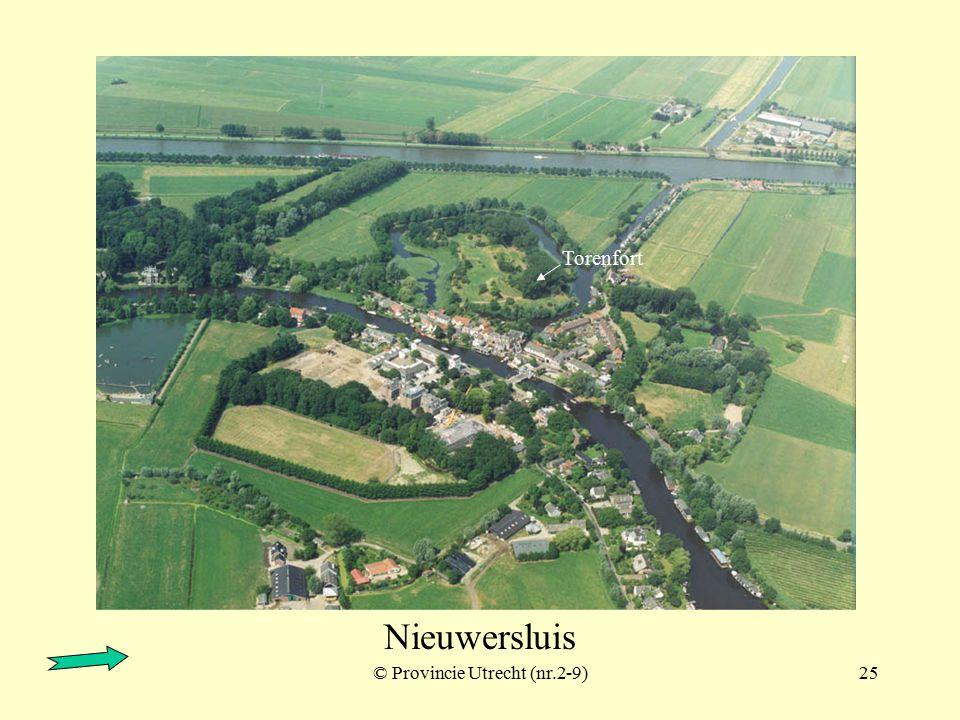 Fort bij Tienhoven ook wel: Redoute aan de Tienhovense vaart