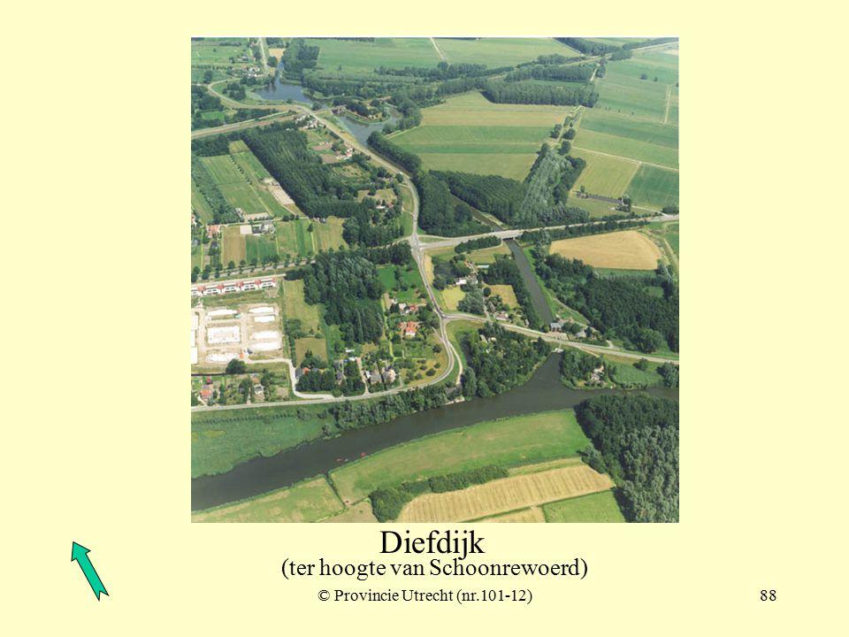 Diefdijk (ter hoogte van Schoonrewoerd) © Provincie Utrecht (nr.102-3)