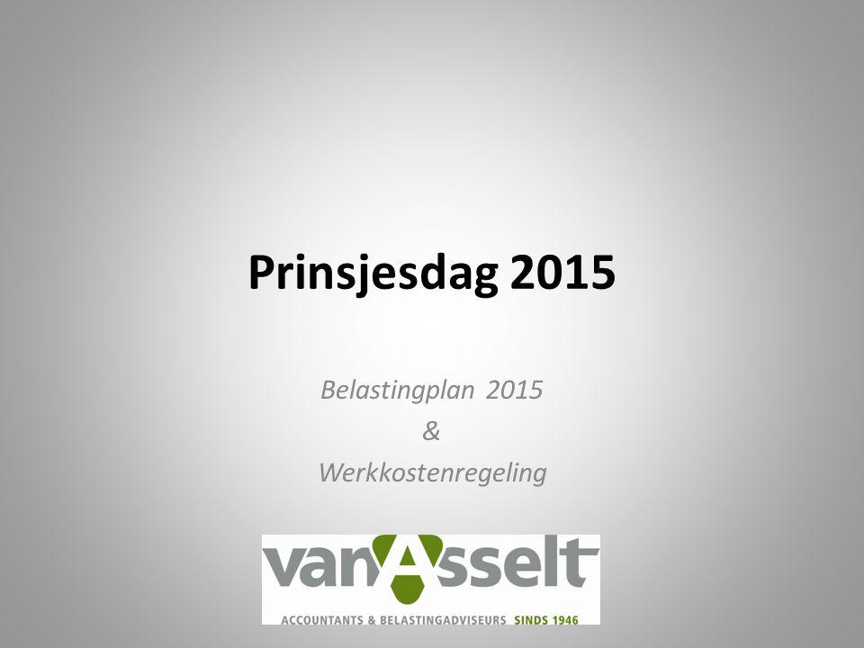 Belastingplan 2015 & Werkkostenregeling