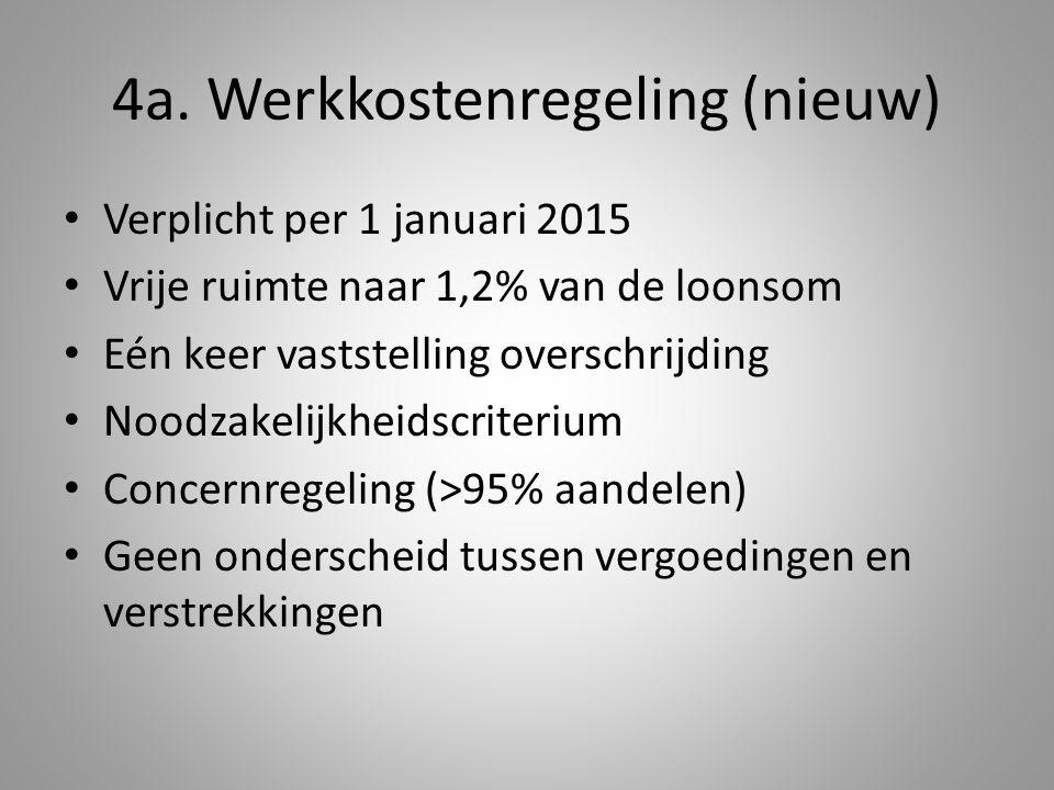 4a. Werkkostenregeling (nieuw)