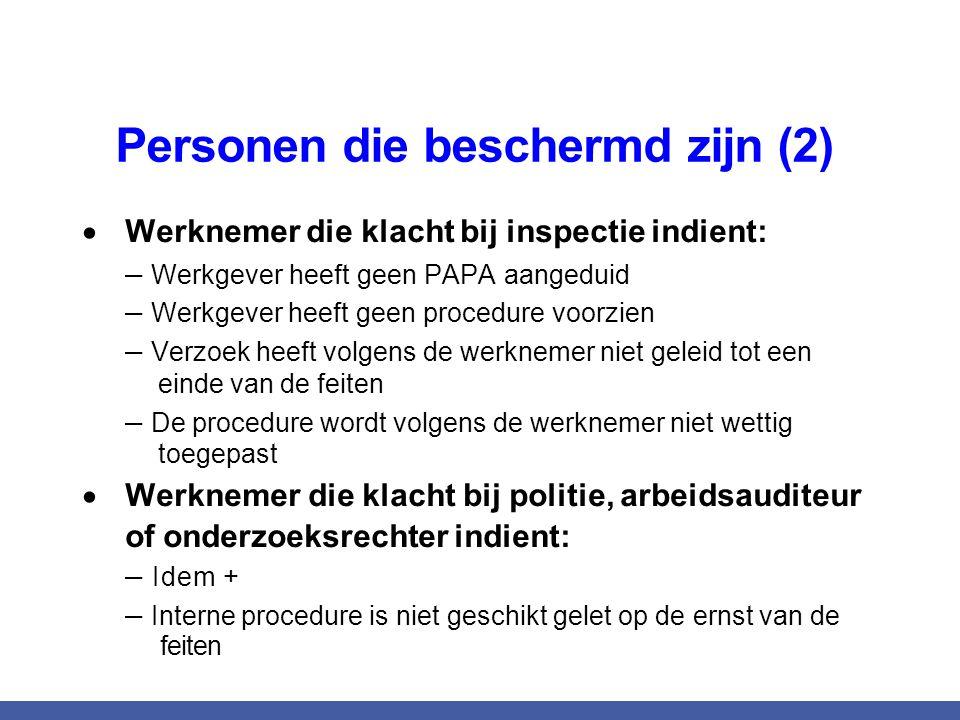 Personen die beschermd zijn (2)