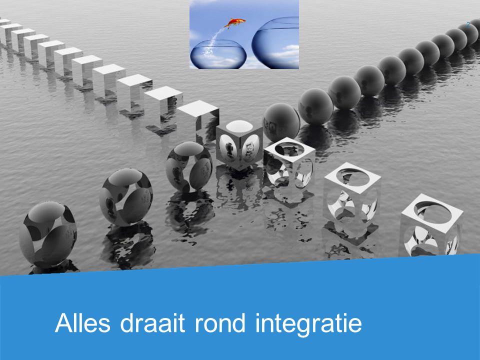 Alles draait rond integratie