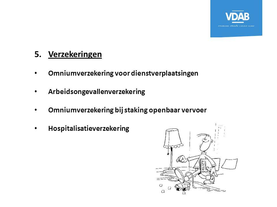 Verzekeringen Omniumverzekering voor dienstverplaatsingen