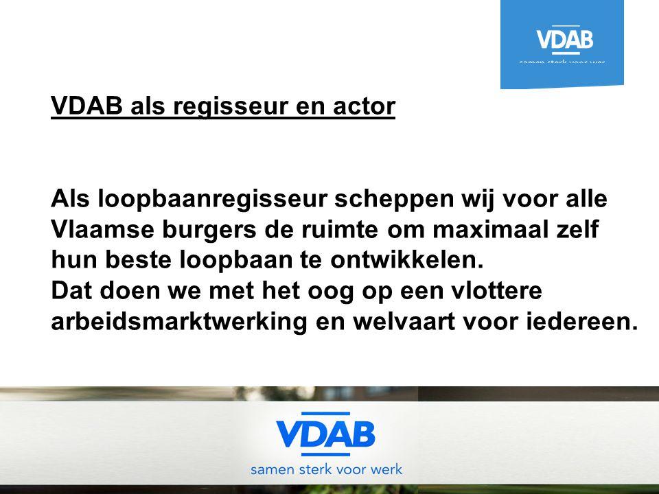 VDAB als regisseur en actor