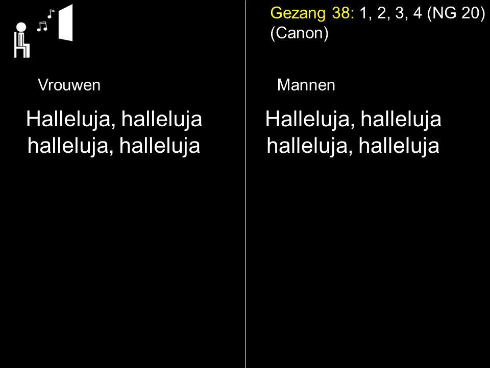 Halleluja, halleluja halleluja, halleluja Halleluja, halleluja