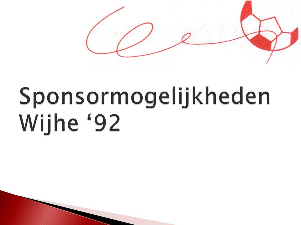 Sponsormogelijkheden Wijhe '92