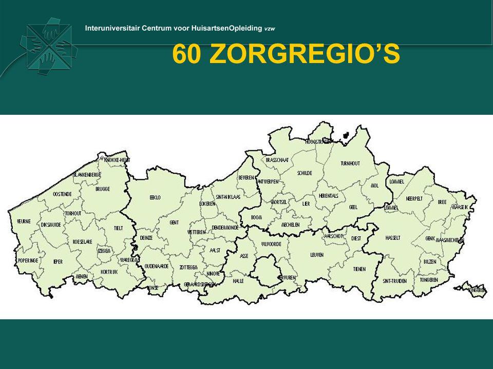 60 ZORGREGIO'S