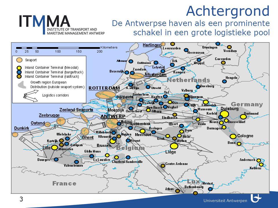 Achtergrond De haven van Antwerpen is de economische motor van Vlaanderen.