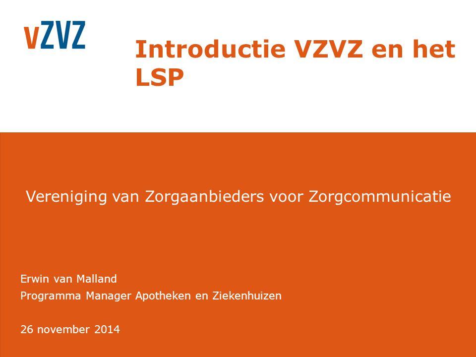 Introductie VZVZ en het LSP