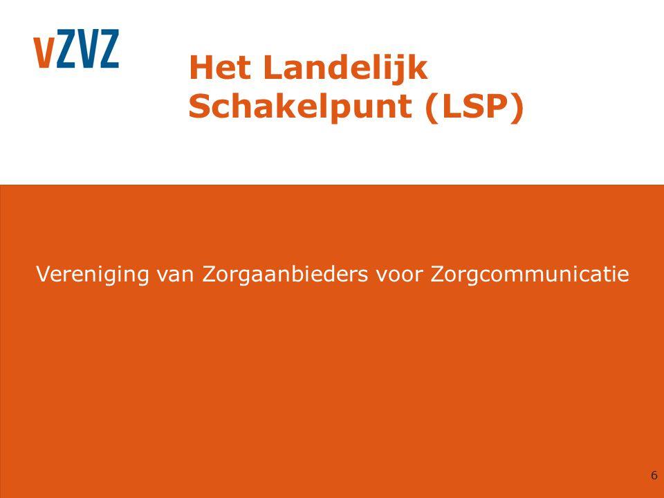 Het Landelijk Schakelpunt (LSP)