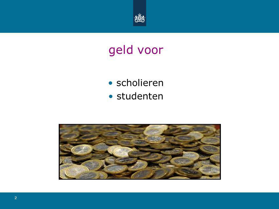 geld voor scholieren studenten 2
