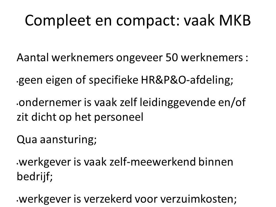 Compleet en compact: vaak MKB