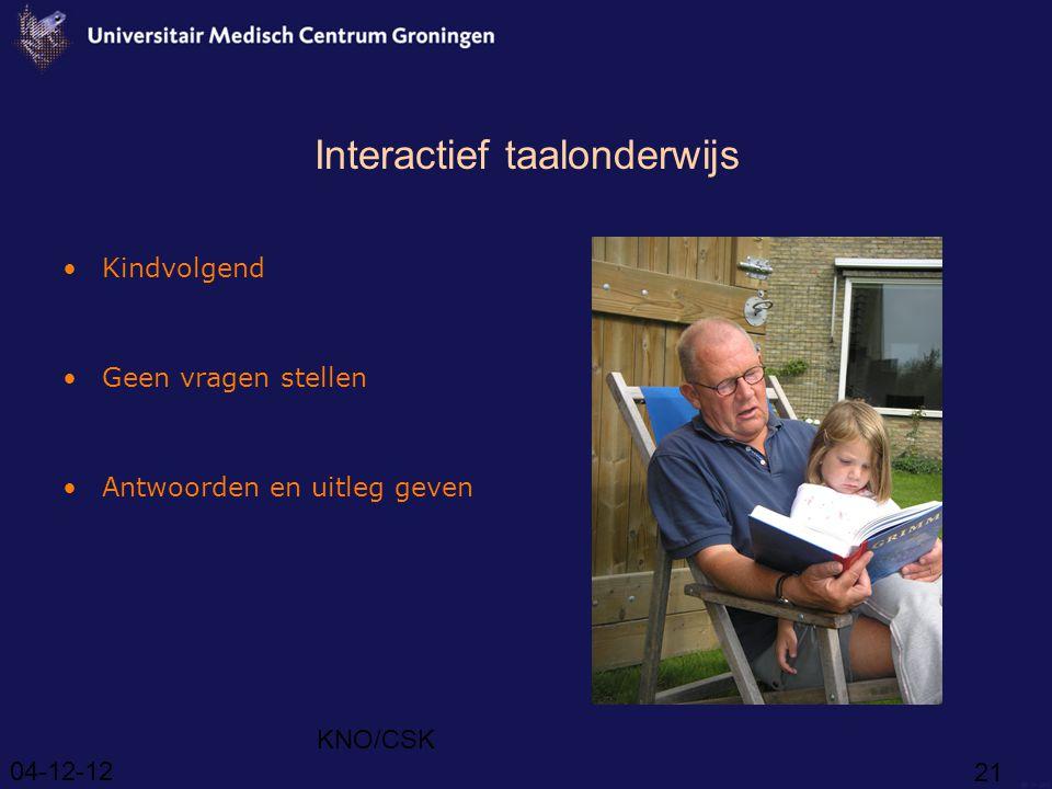Interactief taalonderwijs