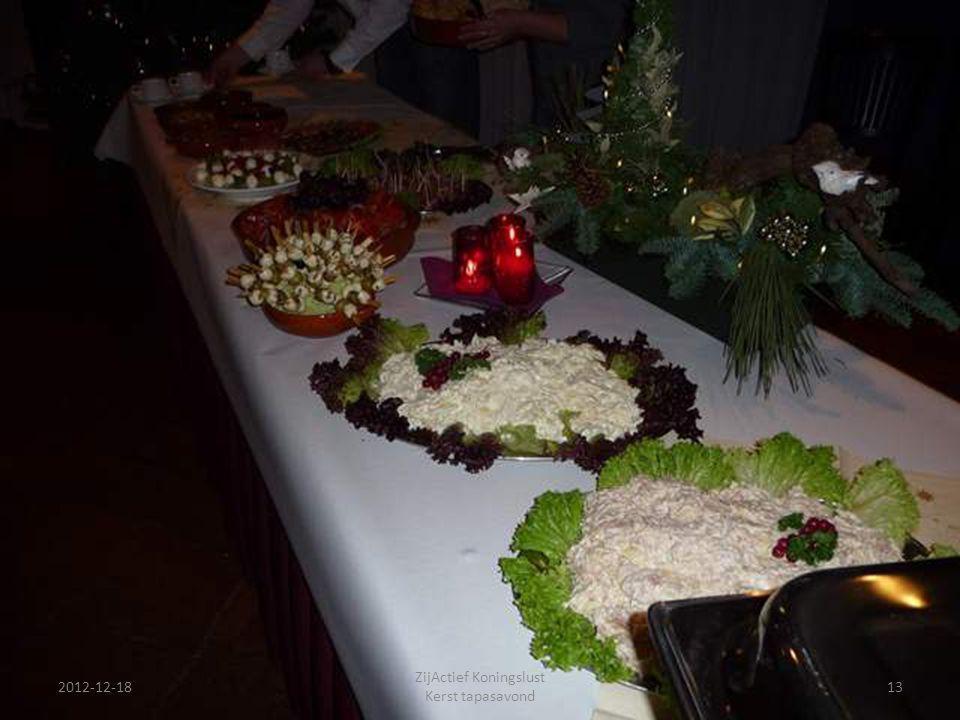 ZijActief Koningslust Kerst tapasavond