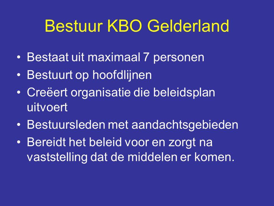 Bestuur KBO Gelderland