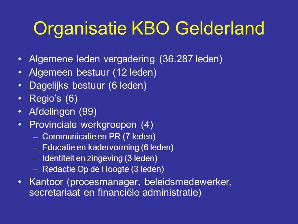 Organisatie KBO Gelderland