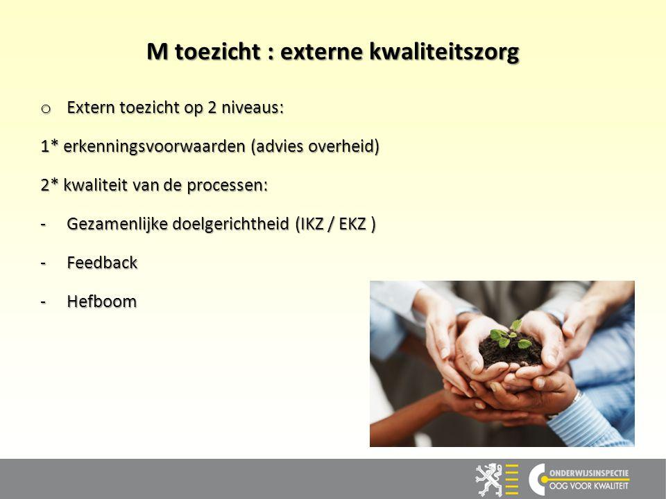 M toezicht : externe kwaliteitszorg