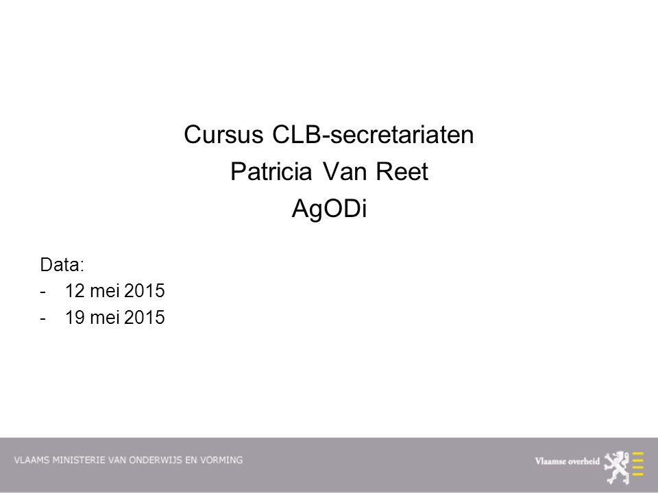 Cursus CLB-secretariaten