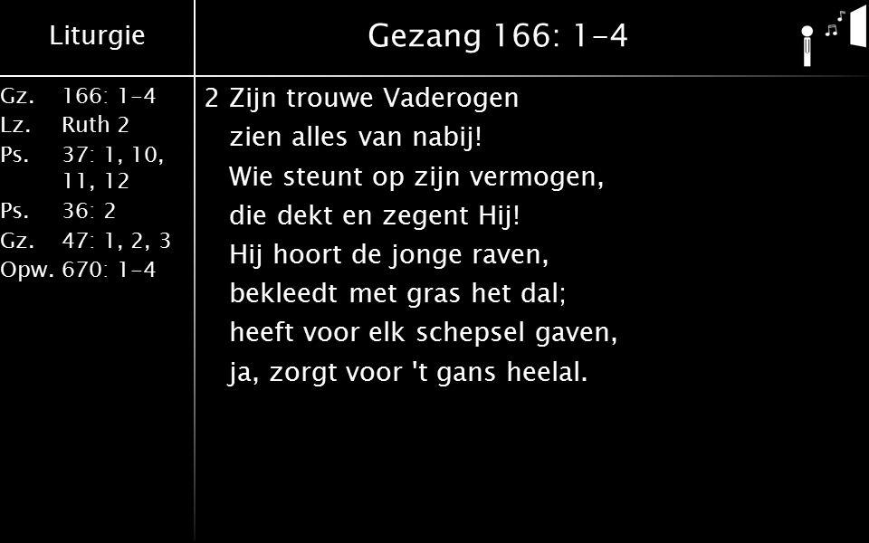 Gezang 166: 1-4