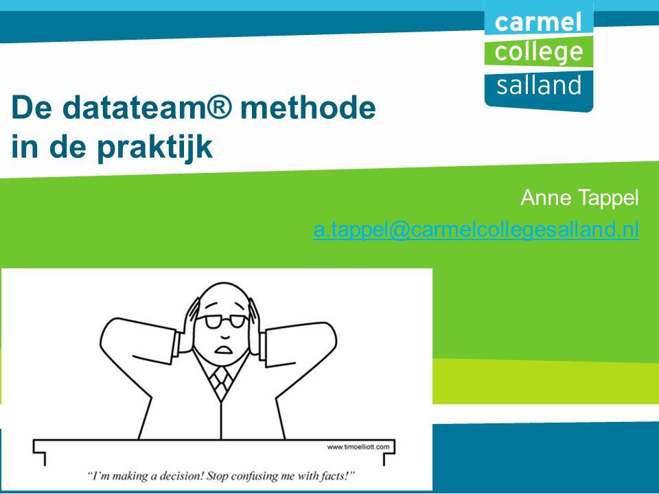 De datateam® methode in de praktijk