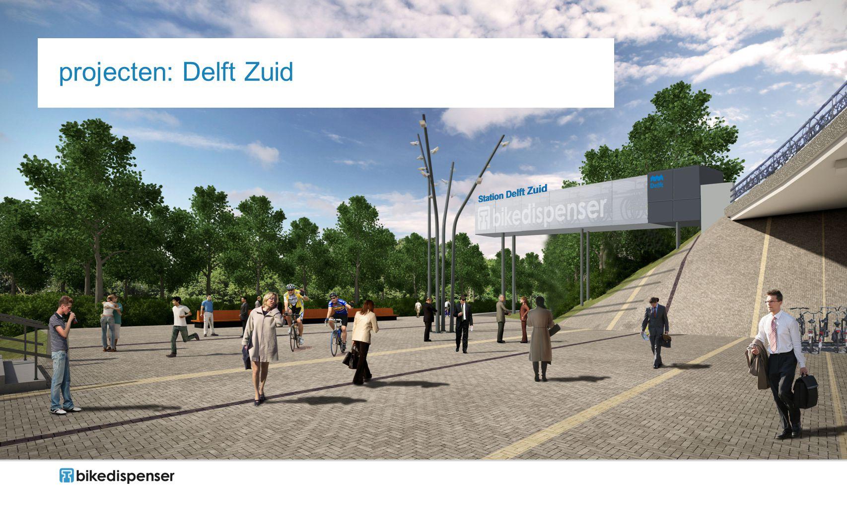 projecten: Delft Zuid