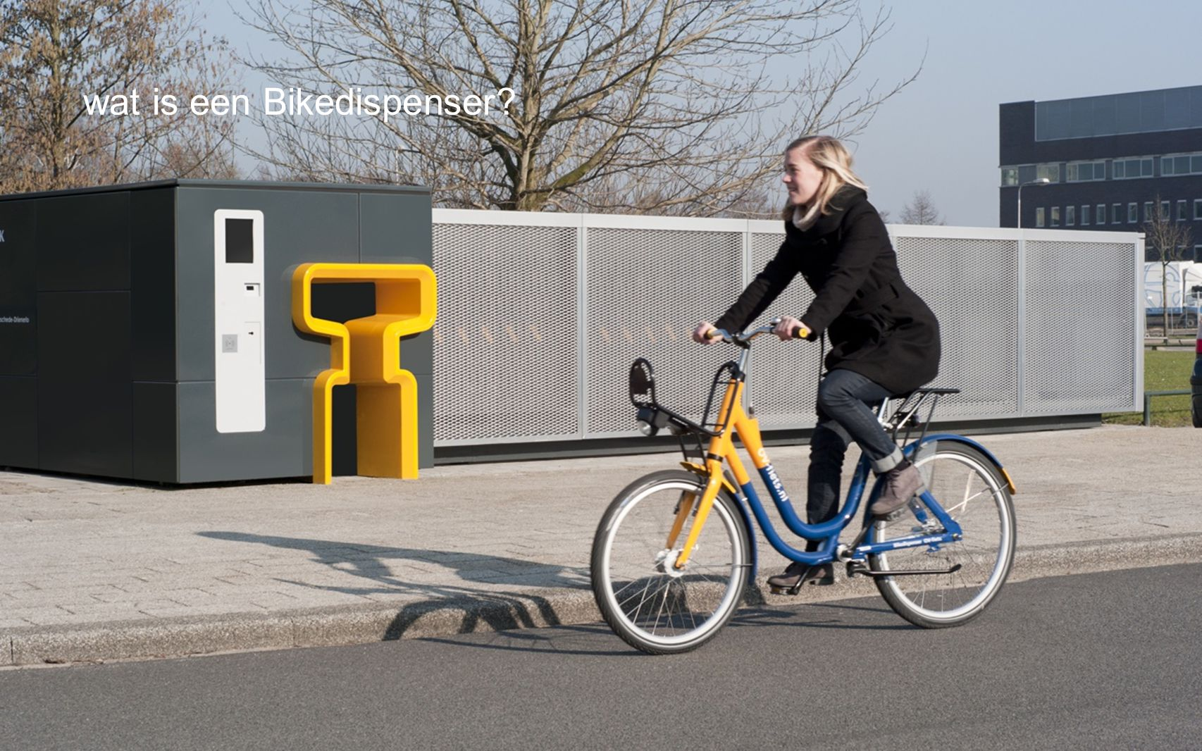 wat is een Bikedispenser