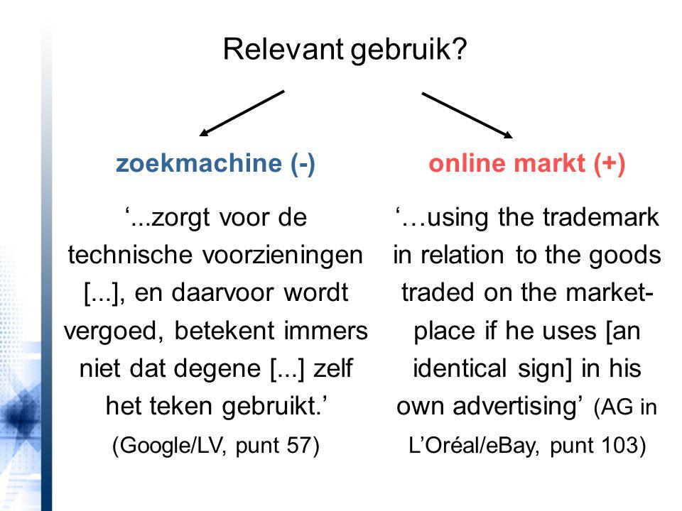 Relevant gebruik zoekmachine (-)
