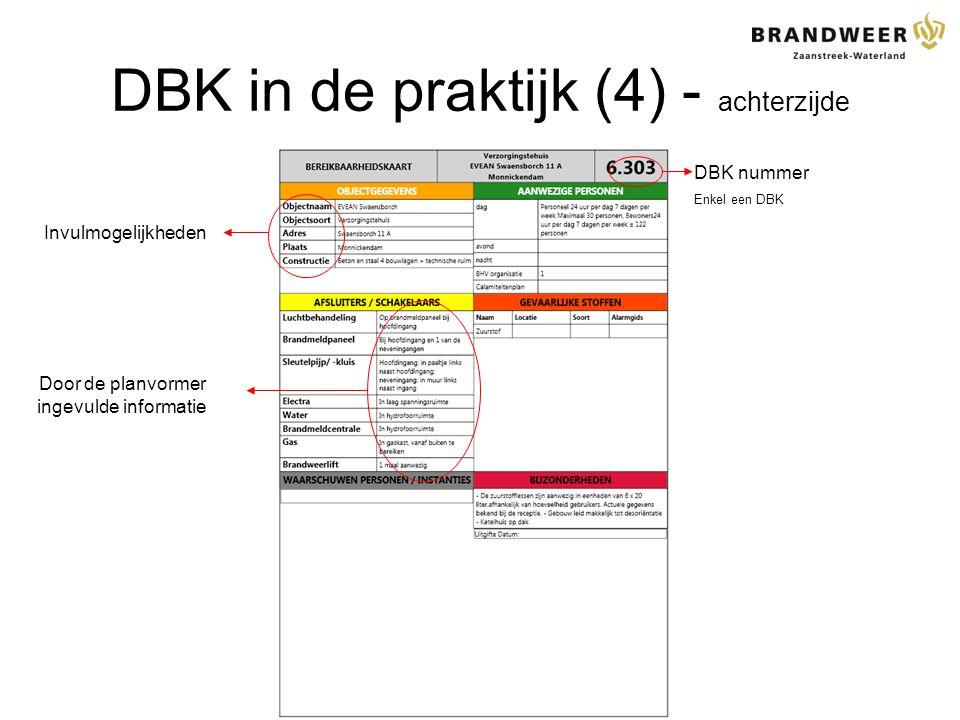 DBK in de praktijk (4) - achterzijde