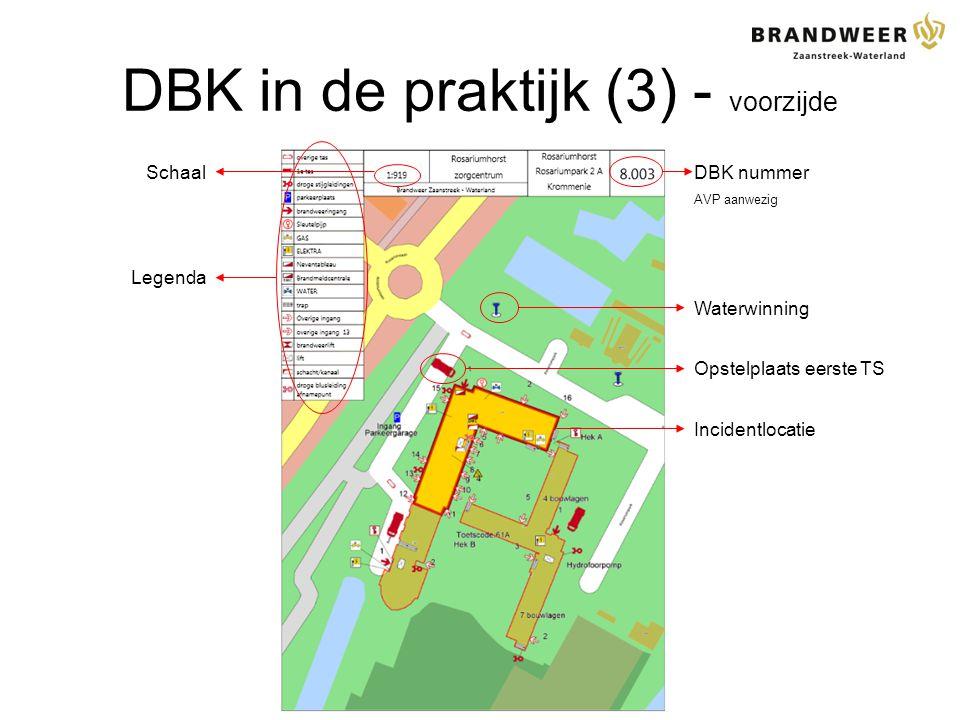 DBK in de praktijk (3) - voorzijde